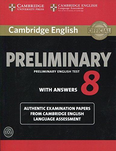 Cambridge English Preliminary 8 Student's Book Pack (Student: Cambridge University Press