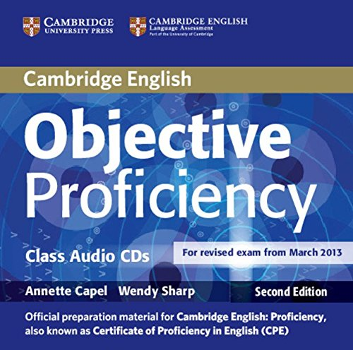 Objective Proficiency Class Audio CDs (2): Annette Capel