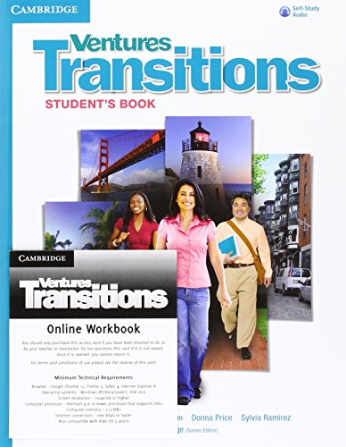 9781107676411: Ventures Transitions Level 5 Digital Value Pack (Student's Book with Audio CD and Online Workbook)