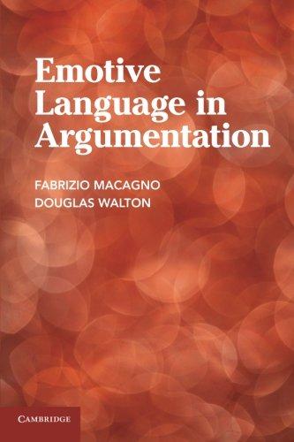 9781107676657: Emotive Language in Argumentation