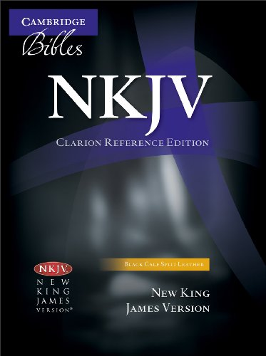 9781107676824: NKJV Clarion Reference Edition NK484: X Black Calf Split Leather