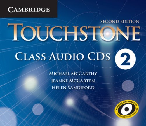 9781107677579: Touchstone Level 2 Class Audio CDs (4)