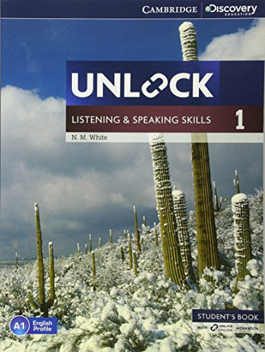 9781107678101: Unlock Level 1 Listening and Speaking Skills Student's Book and Online Workbook (Cambridge Discovery Education Skills)