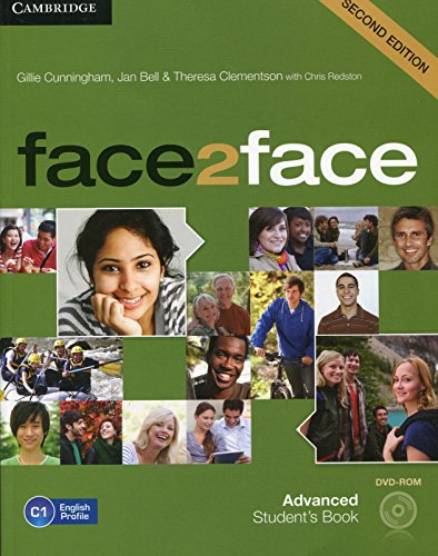 9781107679344: face2face Advanced Student's Book with DVD-ROM Second Edition