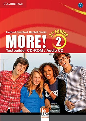 9781107679627: More! Level 2 Testbuilder CD-ROM/Audio CD Second Edition