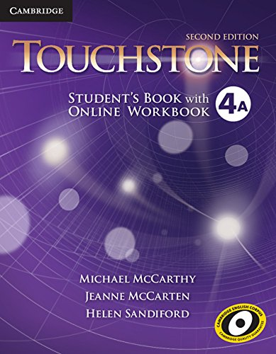 9781107680609: Touchstone Level 4 Student's Book A with Online Workbook A Second Edition