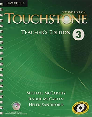 9781107680944: Touchstone Level 3 Teacher's Edition with Assessment Audio CD/CD-ROM Second Edition