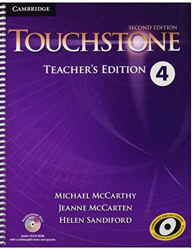 9781107681514: Touchstone. Level 4. Techear's Edition. Con CD-Audio