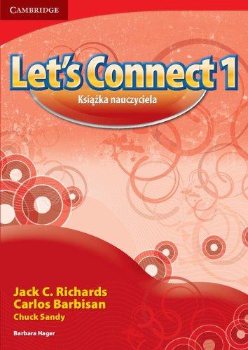 9781107681552: Let's Connect Level 1 Teacher's Book Polish Edition