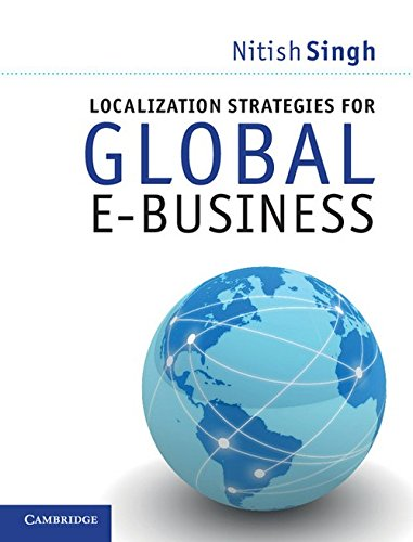 9781107682009: Localization Strategies for Global E-Business South Asian Edition