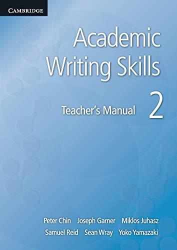 9781107682368: Academic Writing Skills 2 Teacher's Manual