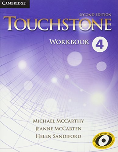Touchstone Level 4 Workbook: McCarthy, Michael