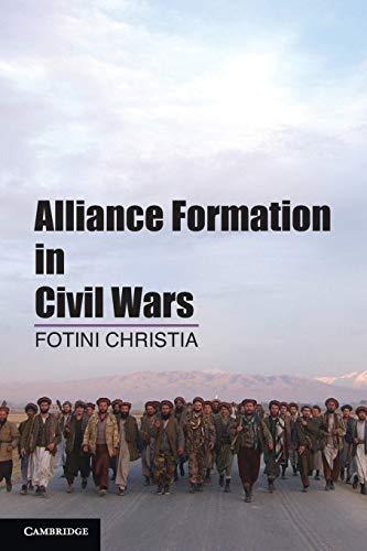9781107683488: Alliance Formation in Civil Wars