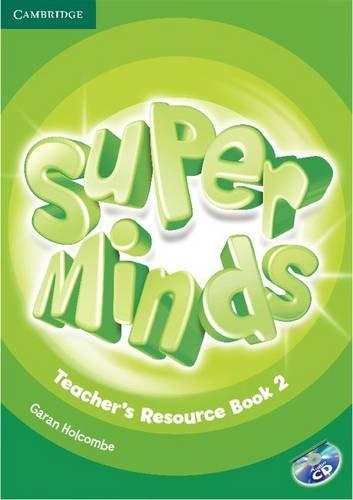 9781107683679: Super Minds Level 2 Teacher's Resource Book with Audio CD