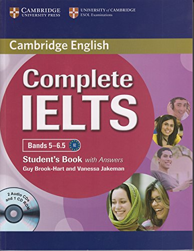9781107683754: Complete IELTS Bands 5-6.5: Students Book with Answers (PB + 2 ACDs + 1 CD-ROM)