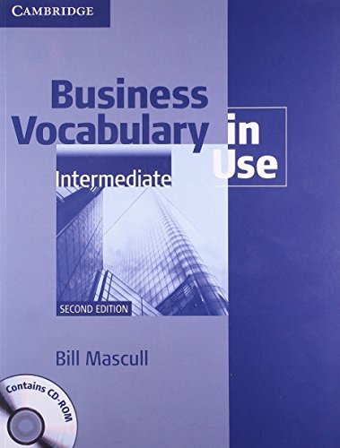 9781107684034: Business Vocabulary In Use Intermediate With Answers And CD-ROM South Asian Edition 2/e