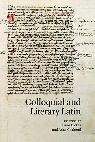 9781107684416: Colloquial and Literary Latin