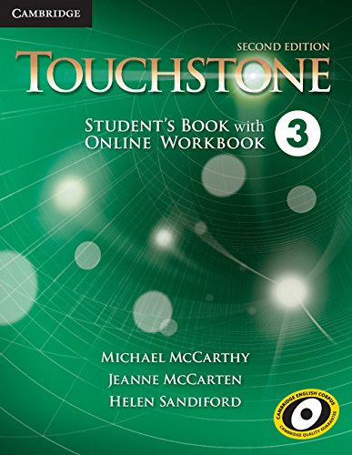 9781107684553: Touchstone Level 3 Student's Book with Online Workbook Second Edition