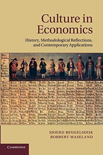 9781107684614: Culture in Economics