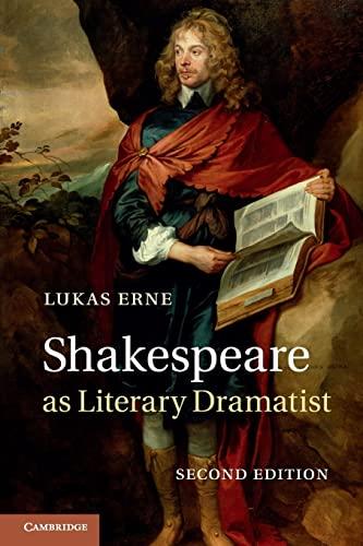 9781107685062: Shakespeare as Literary Dramatist