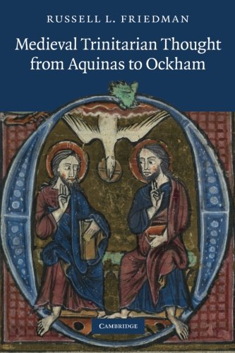 9781107685451: Medieval Trinitarian Thought from Aquinas to Ockham