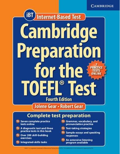 9781107685635: Cambridge Preparation for the TOEFL Test Book with Online Practice Tests and Audio CDs (8) Pack Fourth Edition
