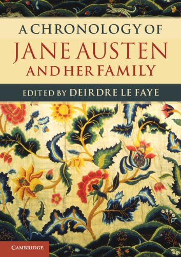 9781107686069: A Chronology of Jane Austen and her Family: 1700-2000