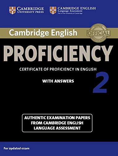 9781107686939: Cambridge English Proficiency 2 Student's Book with Answers (CPE Practice Tests)