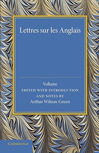 9781107687080: Lettres sur les Anglais (French Edition)
