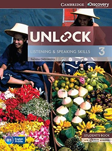 9781107687288: Unlock Level 3 Listening and Speaking Skills Student's Book and Online Workbook (Cambridge Discovery Education Skills)