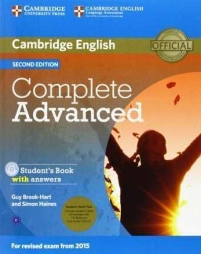 9781107688230: Complete Advanced. Student's Book Pack (Student's book with answers. Con CD-Audio