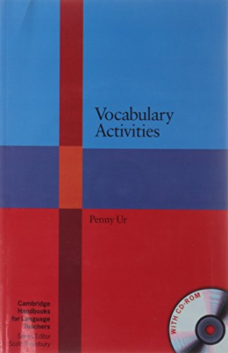 9781107688926: Vocabulary Activities with CD-ROM