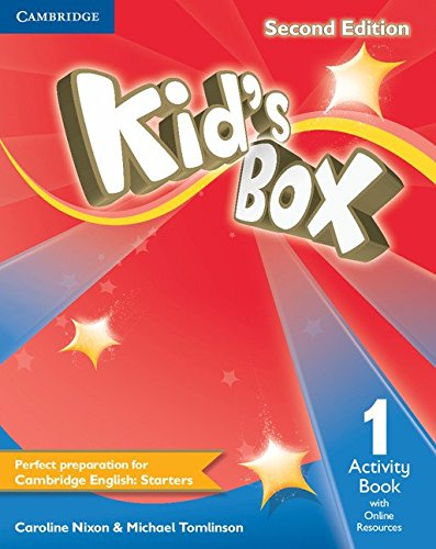 9781107689404: Kid's Box Level 1 Activity Book with Online Resources Second Edition