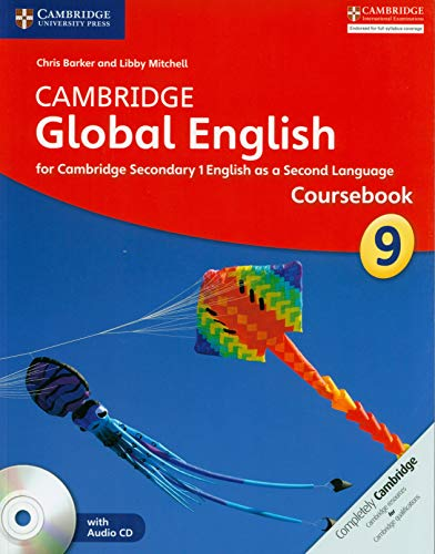 9781107689732: Cambridge Global English Stage 9 Coursebook with Audio CD: for Cambridge Secondary 1 English as a Second Language [Lingua inglese]
