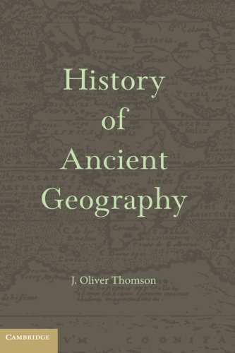 9781107689923: History of Ancient Geography