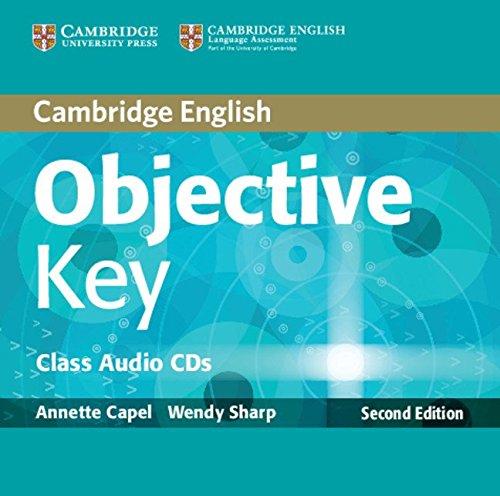 Objective Key Class Audio CDs (2) (Hardcover): Annette Capel