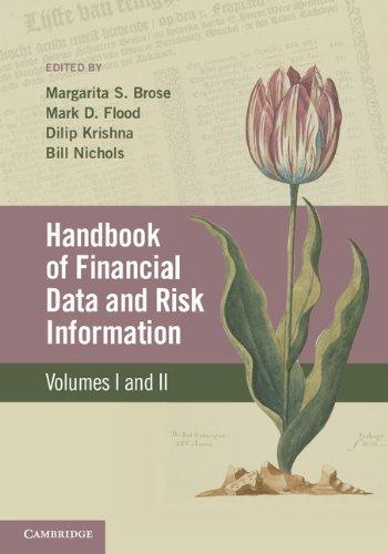 9781107690707: Handbook of Financial Data and Risk Information 2 Volume Hardback Set