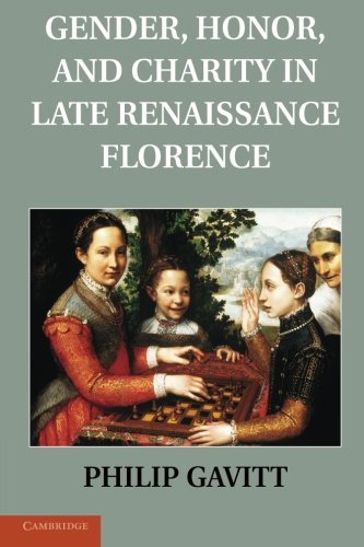 Gender, Honor, and Charity in Late Renaissance Florence: Dr Philip Gavitt