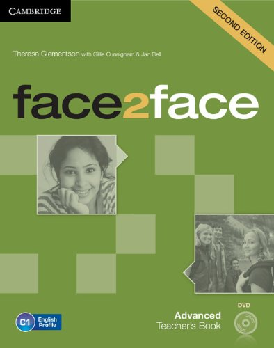 9781107690967: face2face Advanced Teacher's Book with DVD Second Edition
