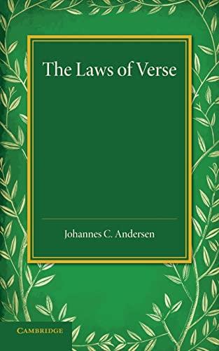 The Laws of Verse (Paperback): Johannes C. Andersen