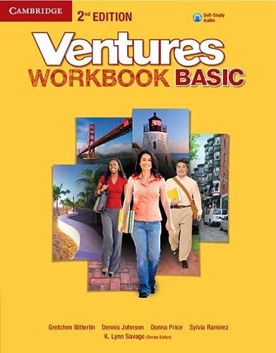 Ventures Basic Workbook with Audio CD (Mixed: Gretchen Bitterlin, Dennis