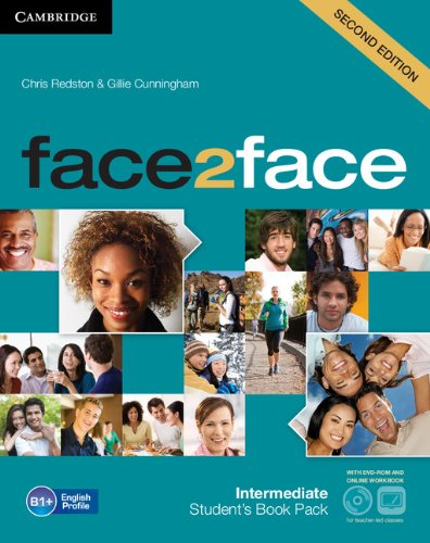 9781107691148: face2face Intermediate Student's Book with DVD-ROM and Online Workbook Pack