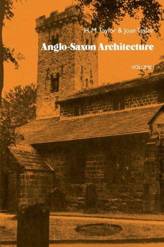 9781107691469: Anglo-Saxon Architecture 3 Part Set