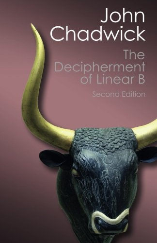 9781107691766: The Decipherment of Linear B