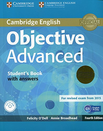9781107691889: Objective Advanced Student's Book Pack (Student's Book with Answers with CD-ROM and Class Audio CDs (2)) Fourth Edition