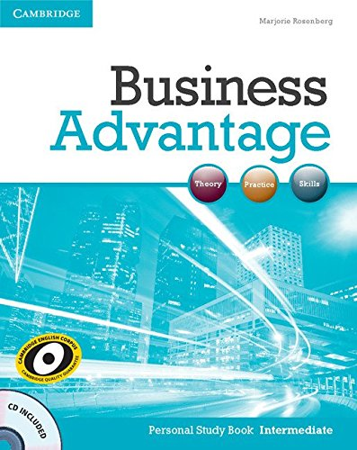 9781107692640: Business Advantage Intermediate Personal Study Book with Audio CD