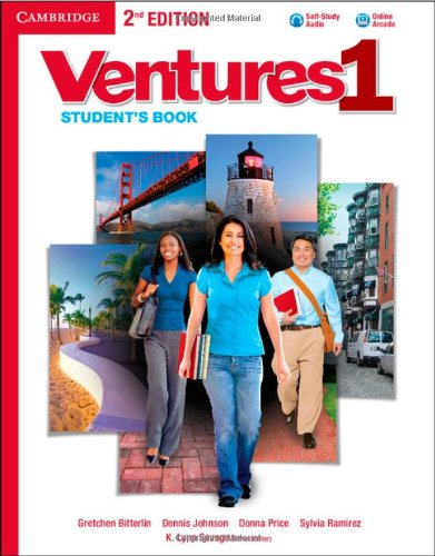 Ventures Level 1 Student's Book with Audio CD Second Edition: Bitterlin, Gretchen; Johnson, ...