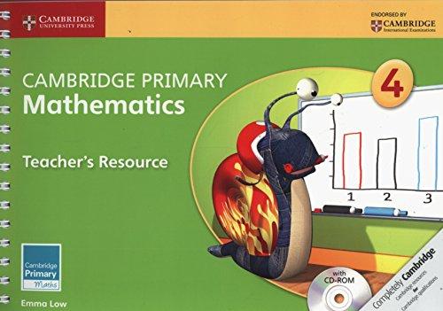 9781107692947: Cambridge Primary Mathematics Stage 4 Teacher's Resource with CD-ROM (Cambridge Primary Maths)