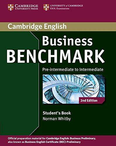 9781107693999: Business Benchmark 2nd Pre-intermediate to Intermediate Business Preliminary Student's Book (Cambridge English)