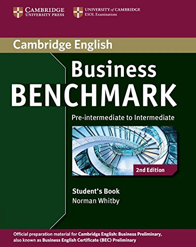 Business Benchmark Pre-intermediate to Intermediate Business Preliminary: Whitby, Norman